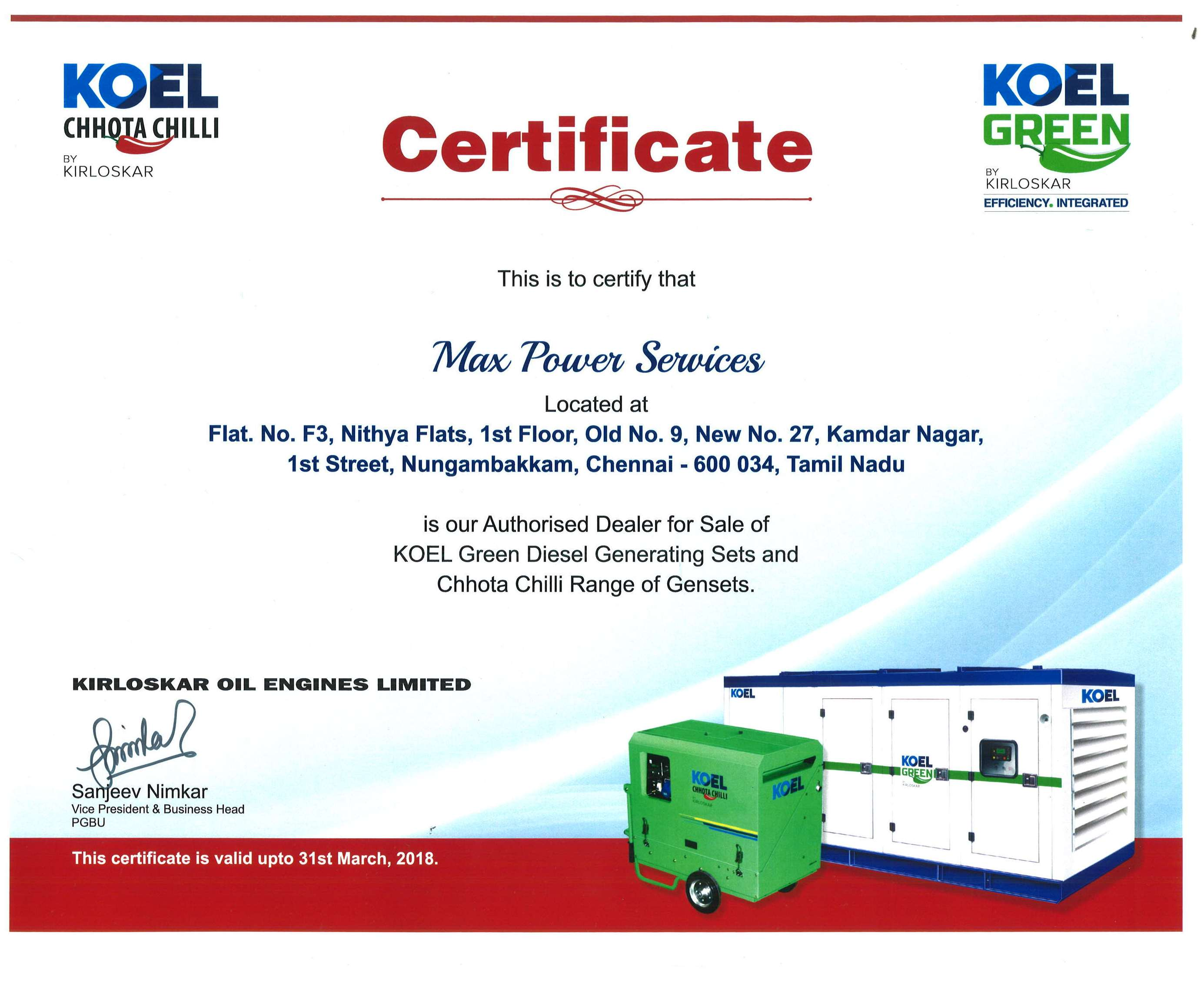Authorized dealer for kirloskar green diesel generator in image02 thecheapjerseys Image collections